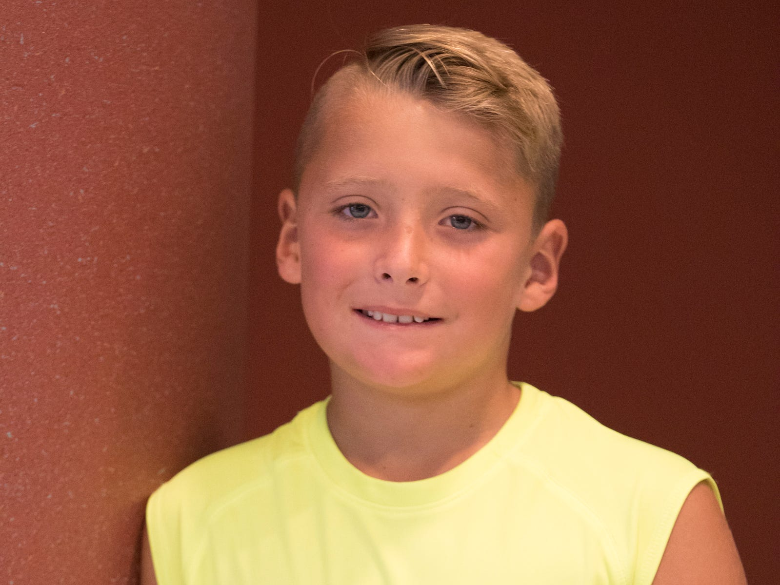Gabe Arledge, 10, Clever Clovers. Project: Pet Rabbit