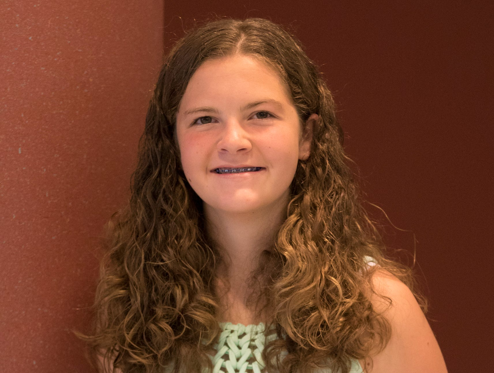 Madeline Huff, 16, Deerfield Happy Helpers. Project: You're the Chef