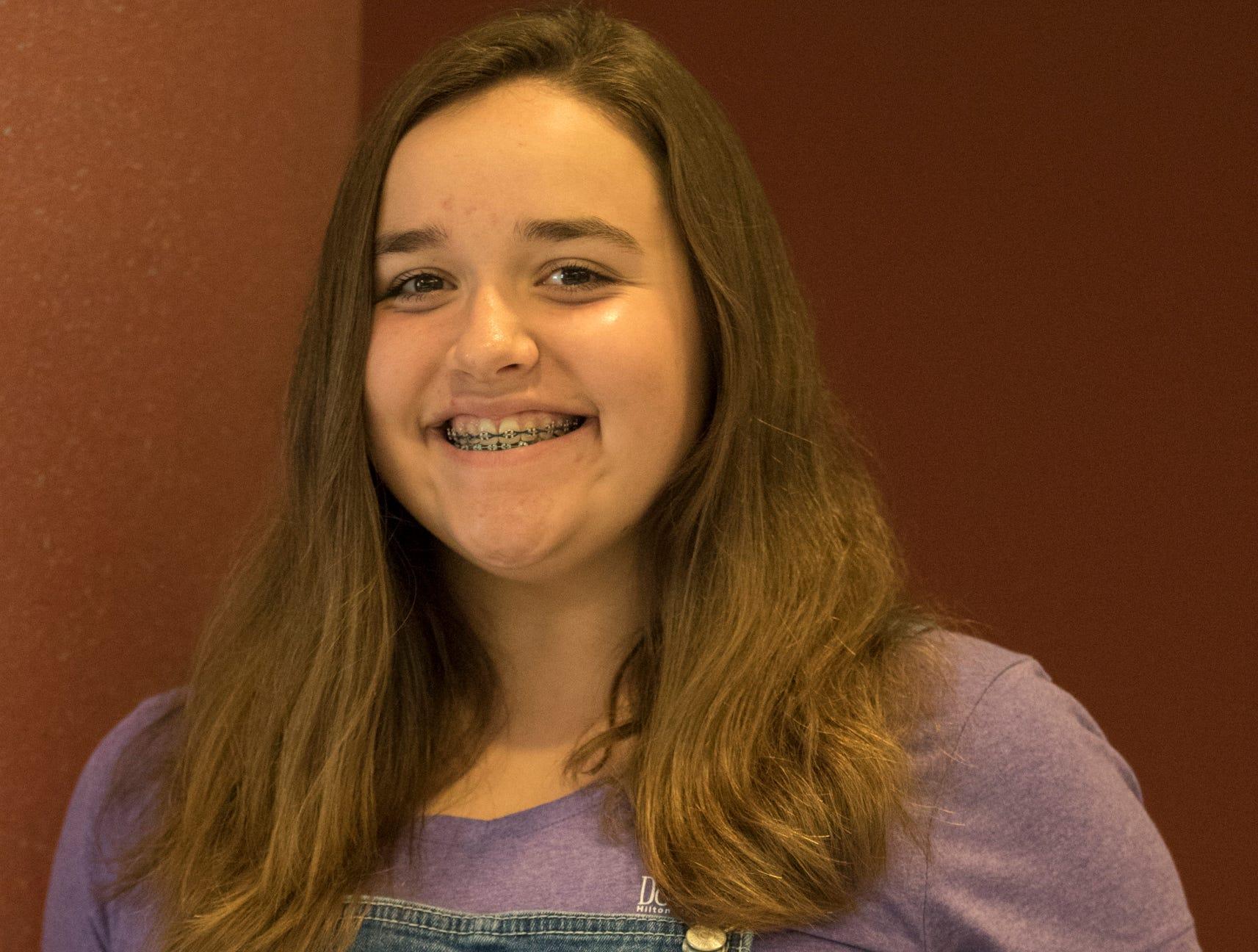 Leah Beery, 16, Ragged Ridge Ramblers. Project: Global Gourmet
