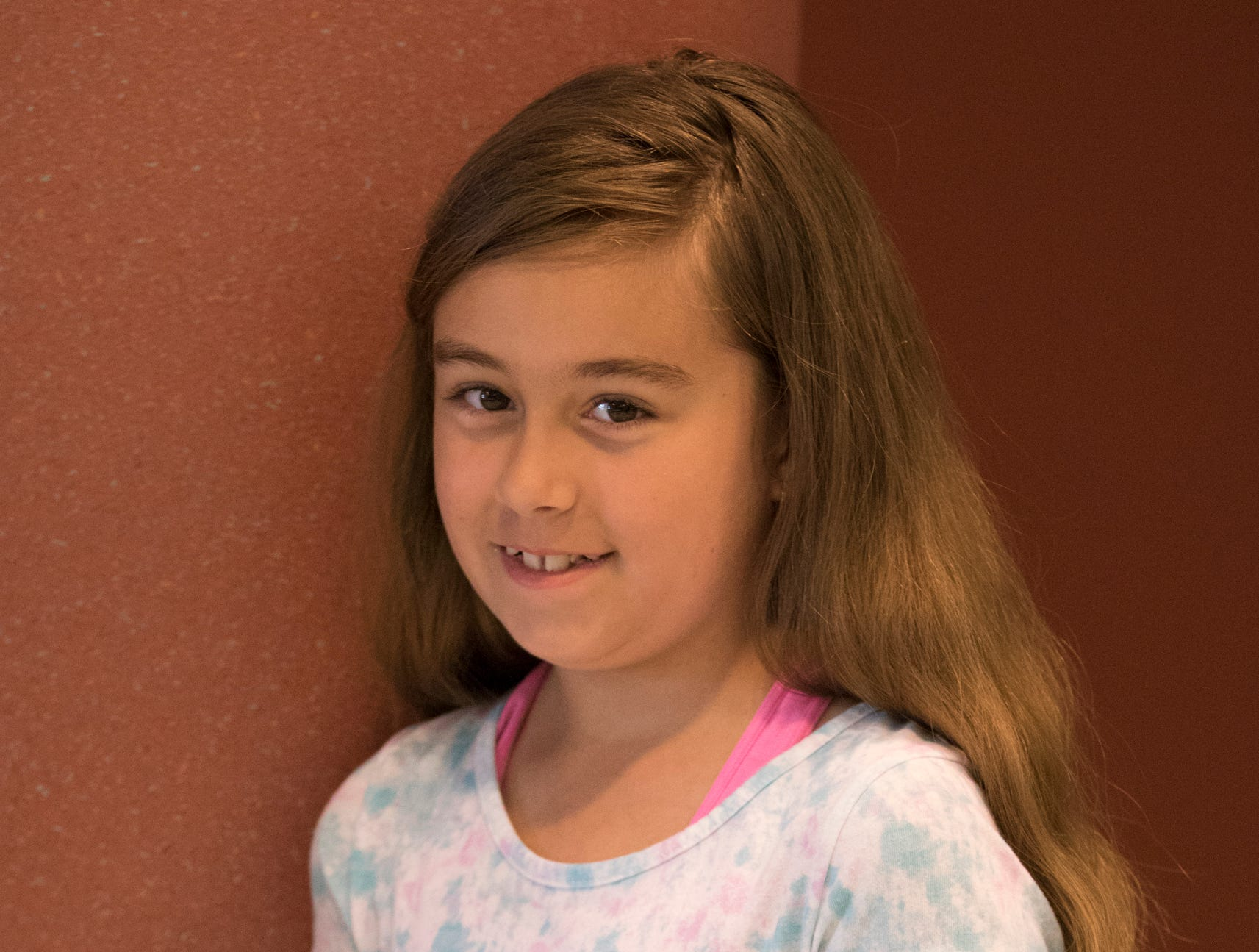Nicole Holly, 10, Deerfield Happy Helpers. Project: All About Dogs