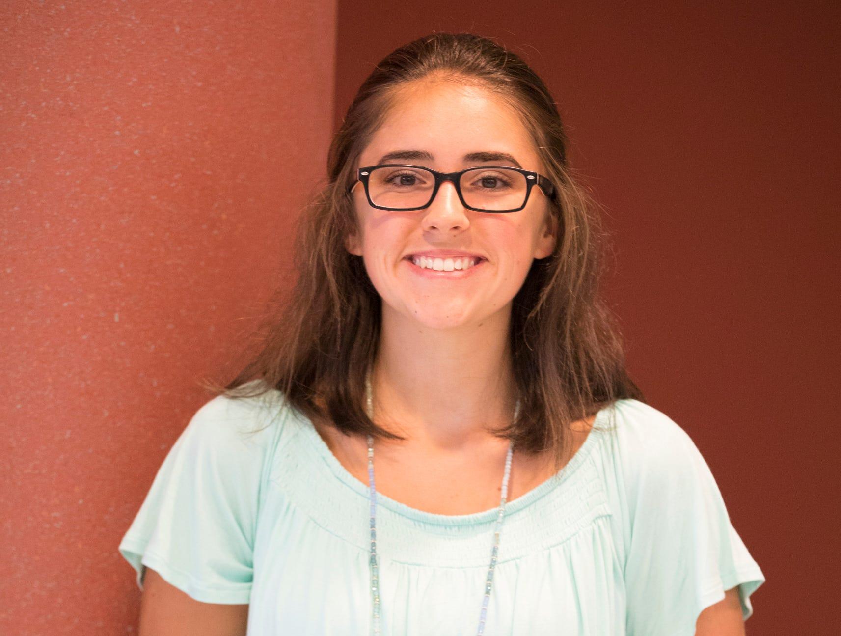 Allison Minney, 16, Clover Clan. Dashboard Dining.