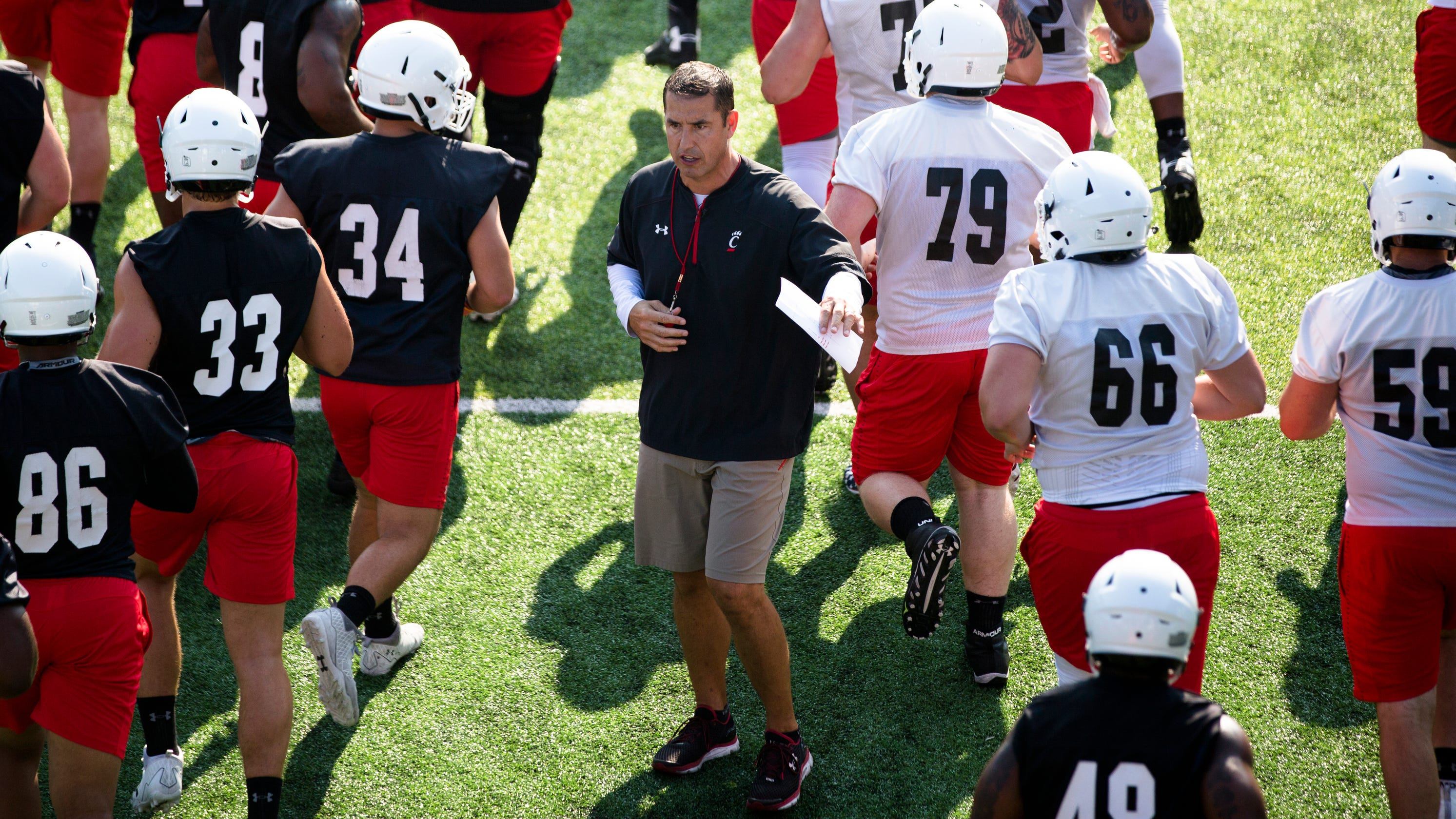 Uc Football Schedule Bearcats Will Play At Least Five