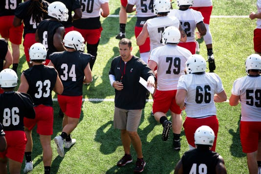 Uc Football Practice