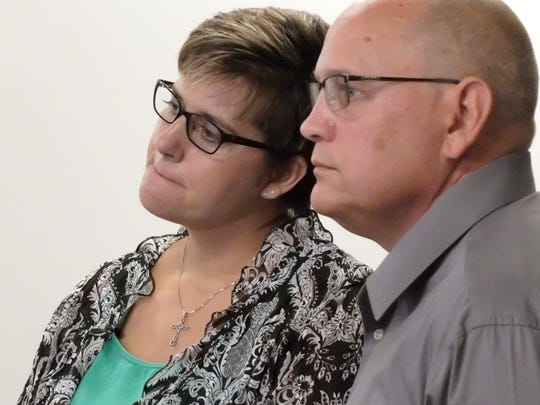 Jennifer Shaul and her husband, Jeff Shaul, are suing Warren County Judge Joseph Kirby in federal court.