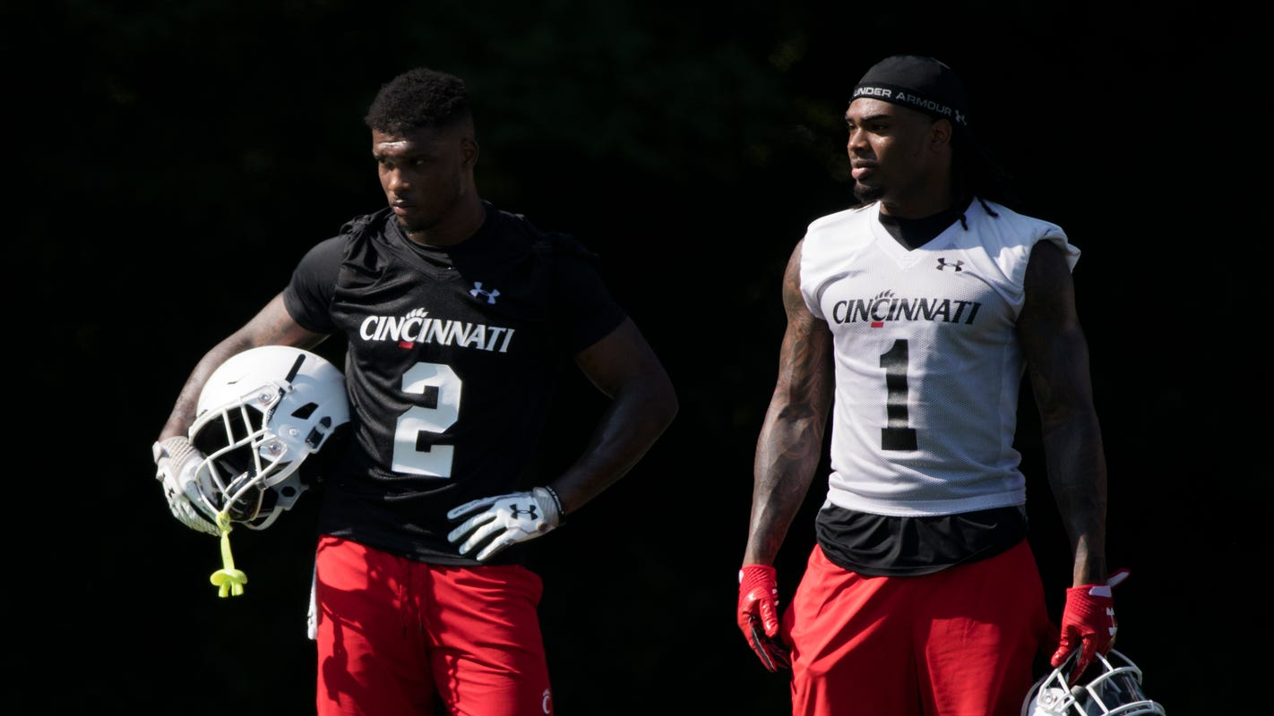 size 40 b6731 9a7c7 UC Bearcats: Wideout Kahlil Lewis is No. 1, in more ways ...