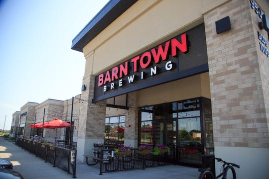 Barn Town Brewing in West Des Moines Wednesday, Aug. 1, 2018.