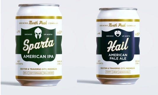 North Peak Beer