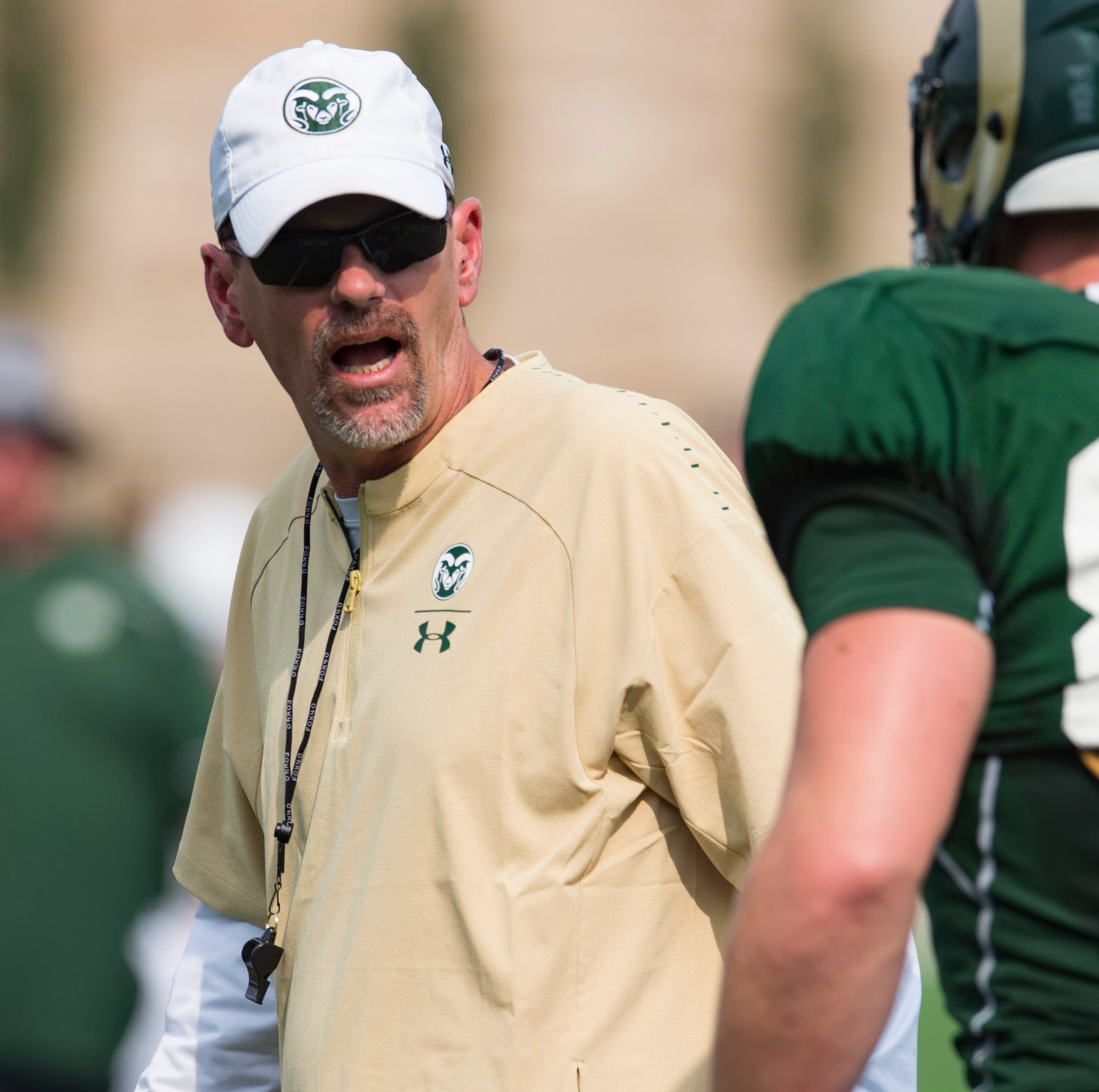 CSU football coach Mike Bobo's status for season opener in question