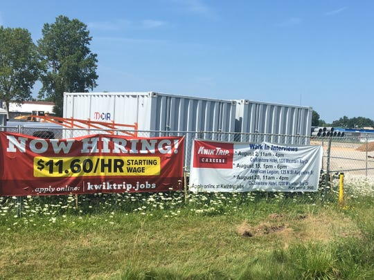 Kwik Trip is building a new location at 717 S. Wisconsin St., in Pulaski.