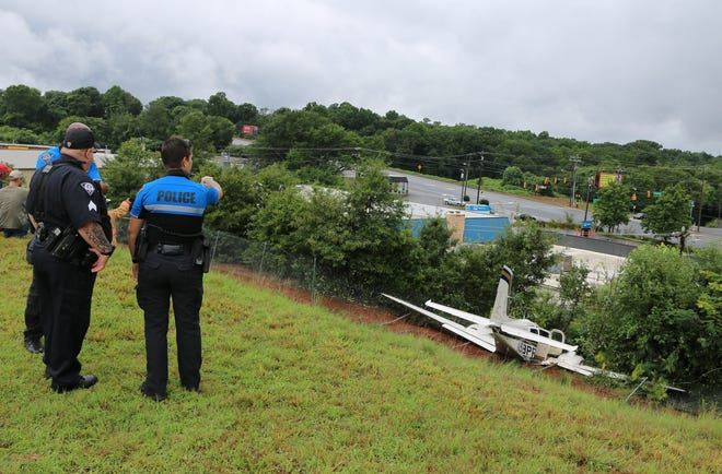 At approximately 10:20 a.m. Friday, Aug. 3, 2018, dispatch put out a call for a plane crash at the Greenville Downtown Airport. Officers responded quickly, finding that a privately owned plane that had three occupants.