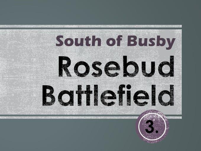 3. Rosebud Battlefield