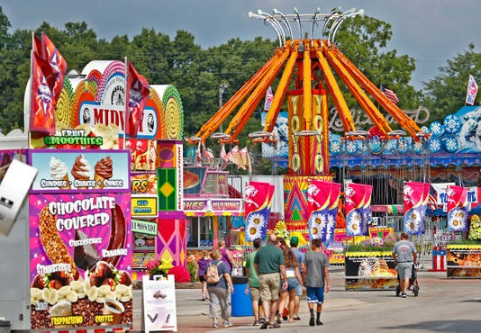 Indiana State Fair 2018 Opens