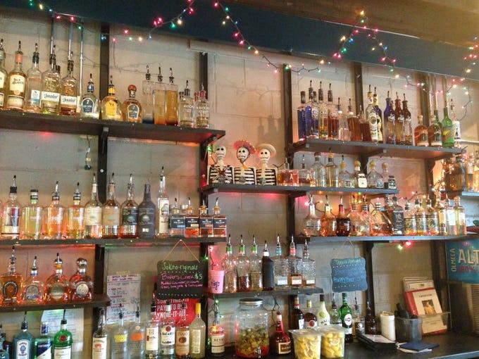 SoKno Taco Cantina boasts a variety of tequilas.