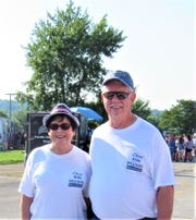 TC and Ron Williams at the Independence Day parade, 2018.