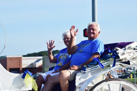 Nancy and Don Gordon were Grand Marshals of the parade opening the 2018 Karns Community Fair held at Karns High School Saturday, July 28.