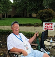 Greeting voters at Farragut High School on Election Day paid off for Ron Williams.