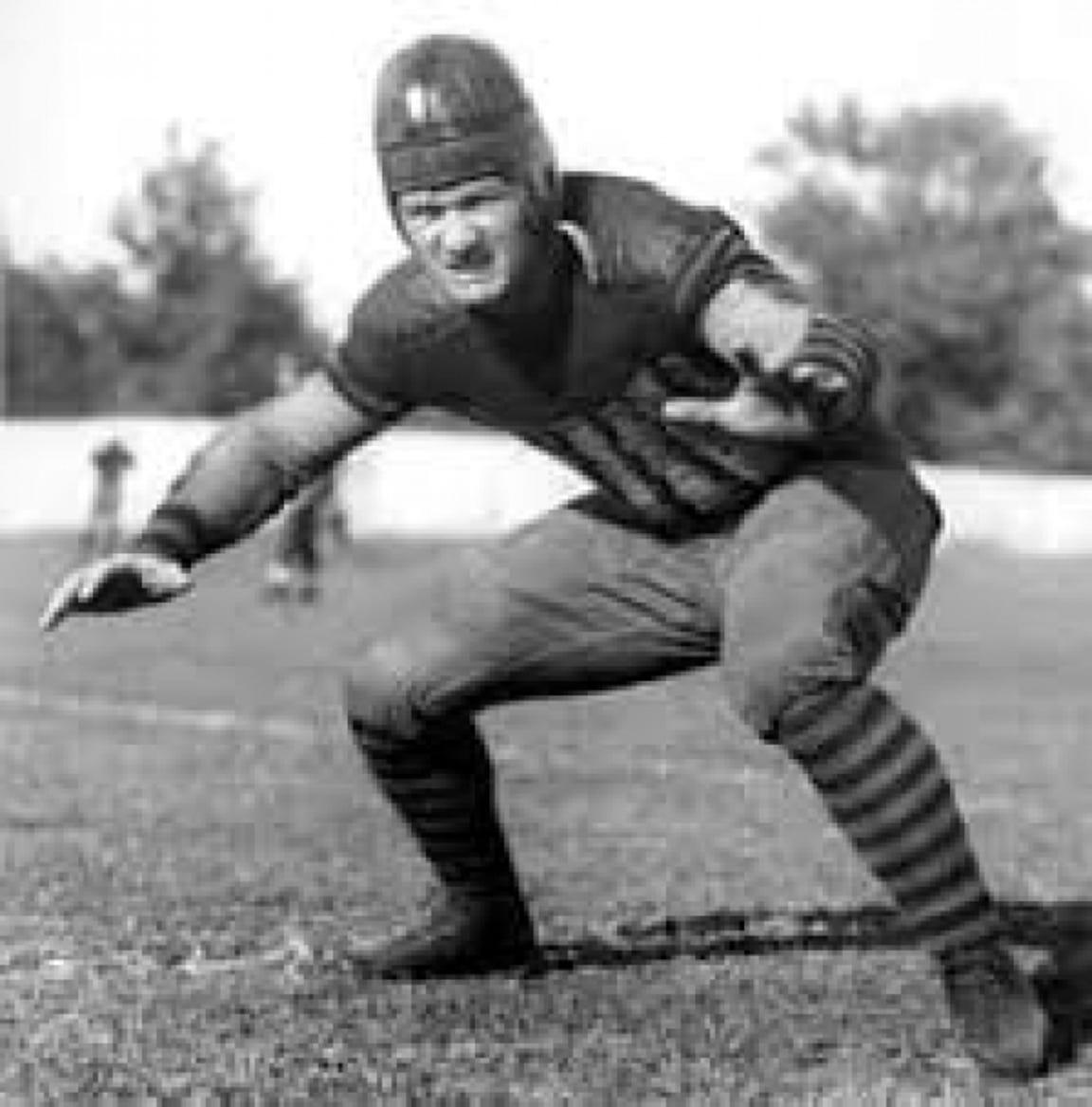 Elmer Sleight was an All-American lineman on Purdue's 1929 Big Ten championship team.