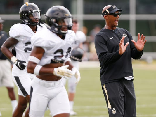Laf Friday At Purdue Football Practice