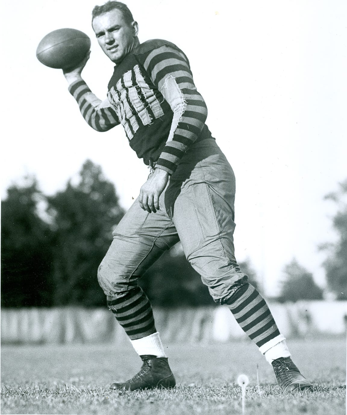 All-American Ralph Welch was a big reason why Purdue won the 1929 Big Ten championship.