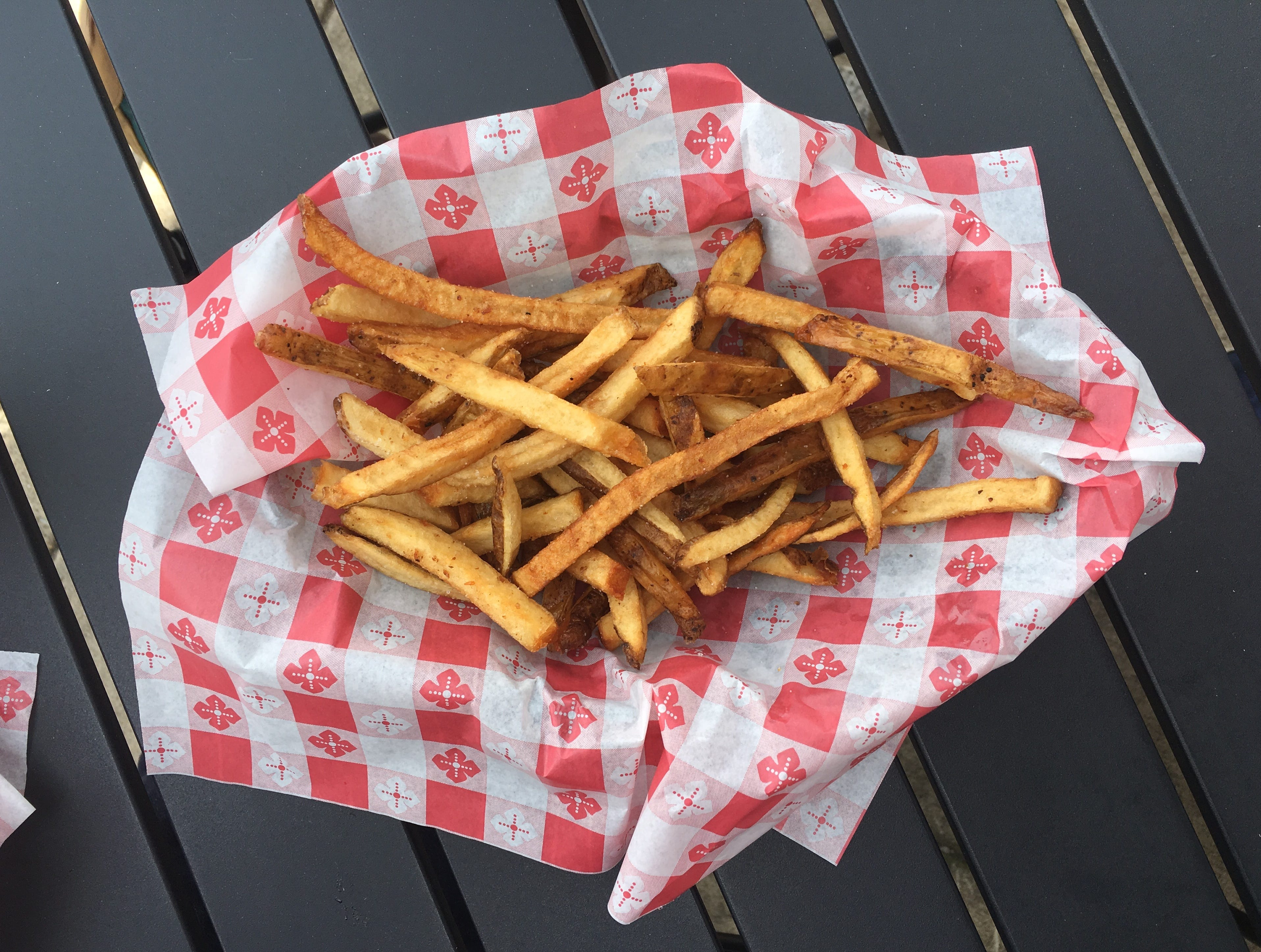 French fries at Nicky's