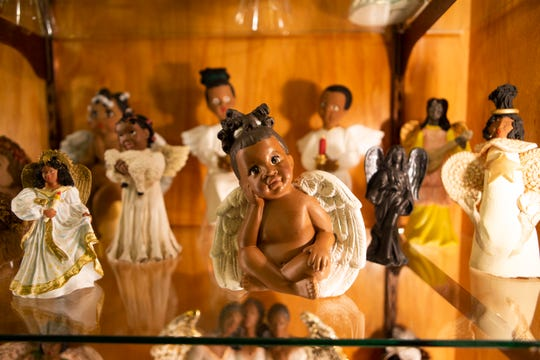 The Angel Museum in Beloit has a black angel collection donated by Oprah Winfrey. The angels were sent in by Oprah's fans.