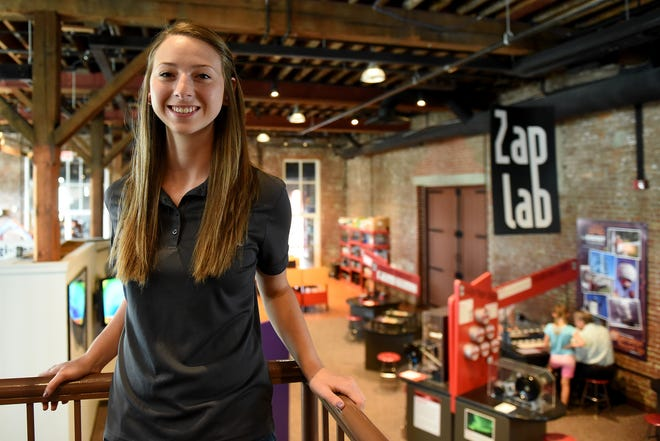 Kelsey Riffle, 22, started volunteering at The Works when she was 12 years-old. Riffle graduated from OSU in 2018 and will be starting her career at an Indiana-based company as an associate metallurgical engineer.