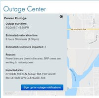 Power outage map maryland