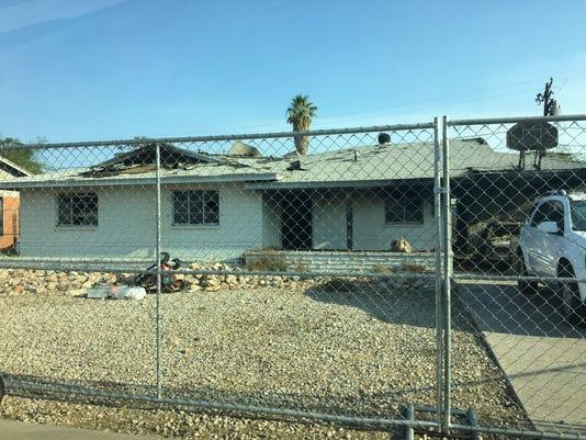 A house fire too close to home