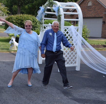 Chambersburg folks come together to lead W.Va. dancing partners into wedded bliss
