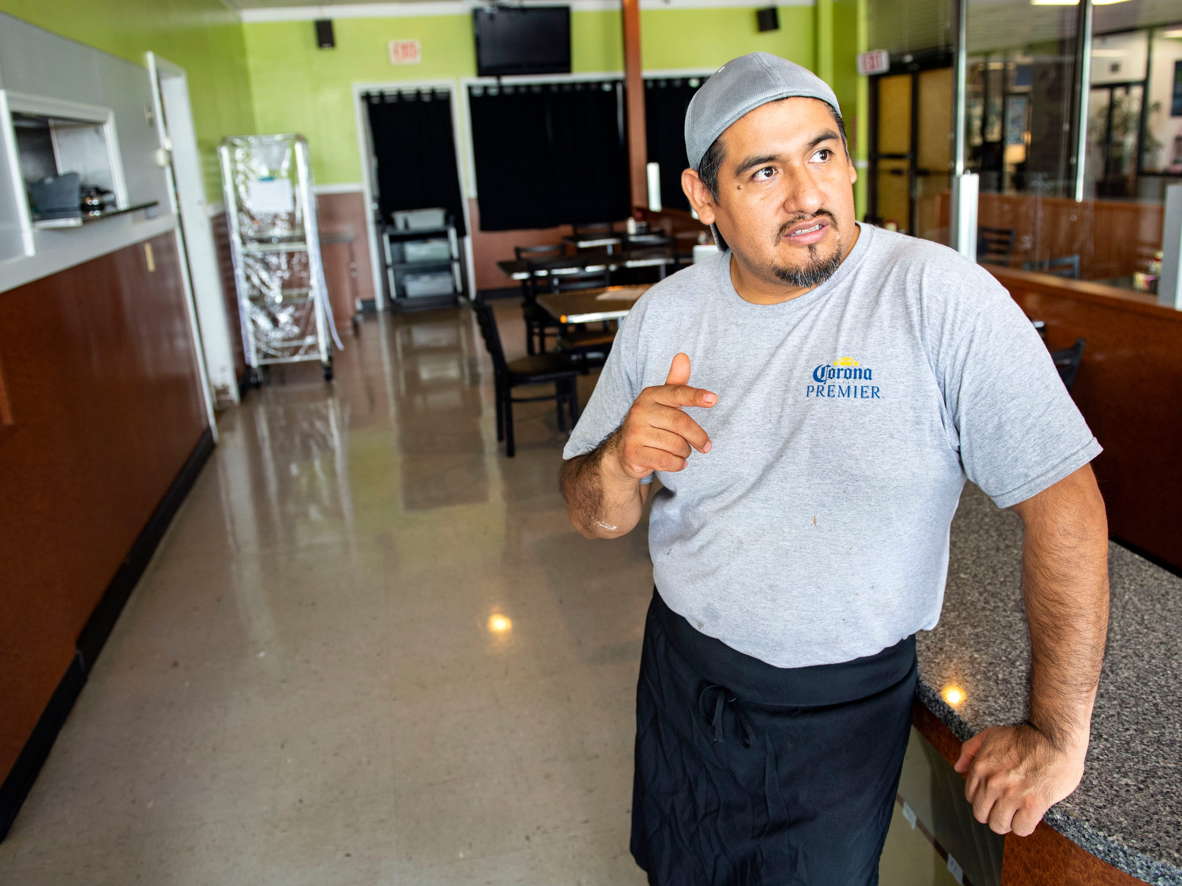 Aurora's Bakery opened in July 2018, owned and operated by Mexican immigrants Anselmo Arrieta (pictured) and his wife Guadelupe Rosete. The pair met in New York City, and moved to York in 2002 to 'chase the American Dream.'