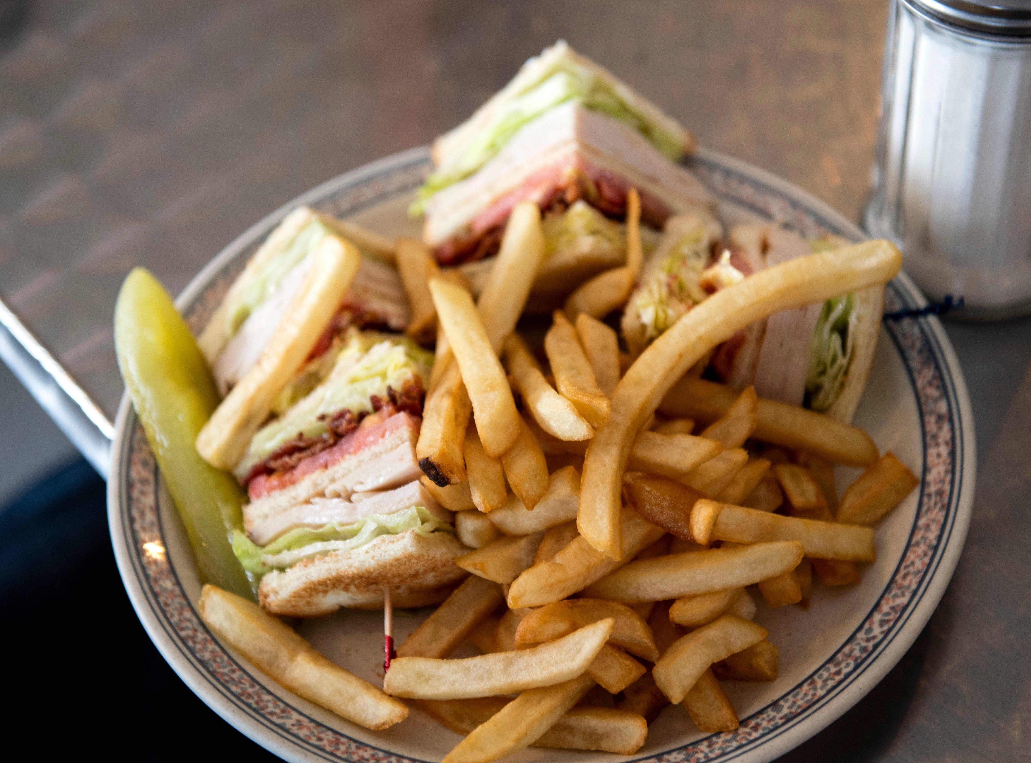 A deli turkey club from Aurora's Bakery on Wednesday, August 1, 2018. Aurora's Bakery opened in July 2018, owned and operated by Mexican immigrants Anselmo Arrieta and his wife Guadelupe Rosete. The pair met in New York City, and moved to York in 2002 to 'chase the American Dream.'