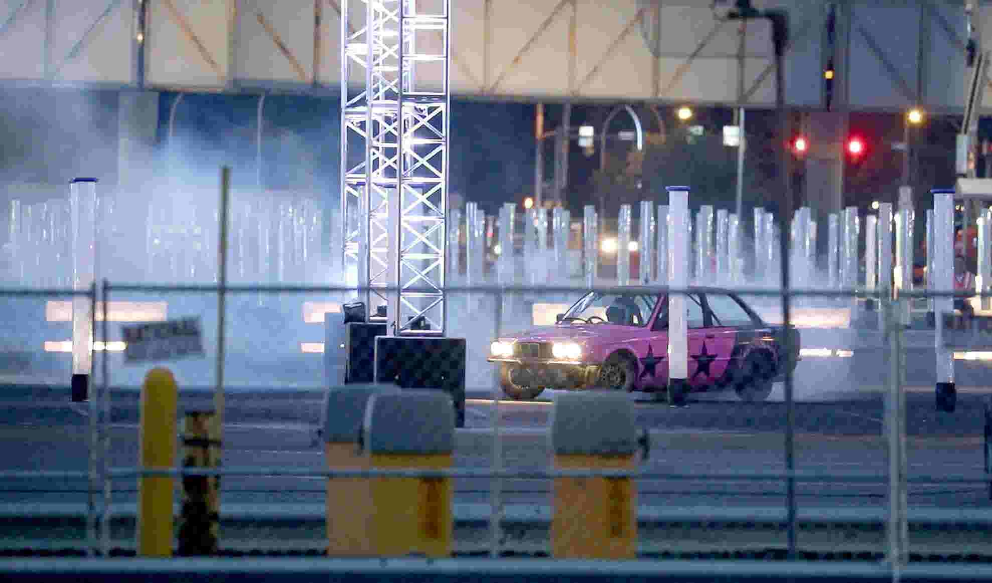 Car Racing Show Filming At Eastman Business Park
