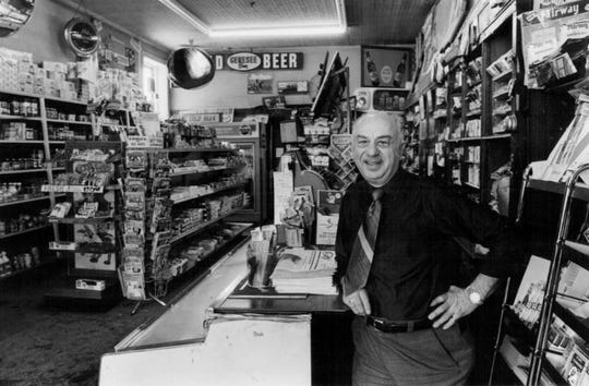 Feb. 4, 1981: Meyer Rasnick, 72, of Rasnick's Delicatessen on Park Avenue.