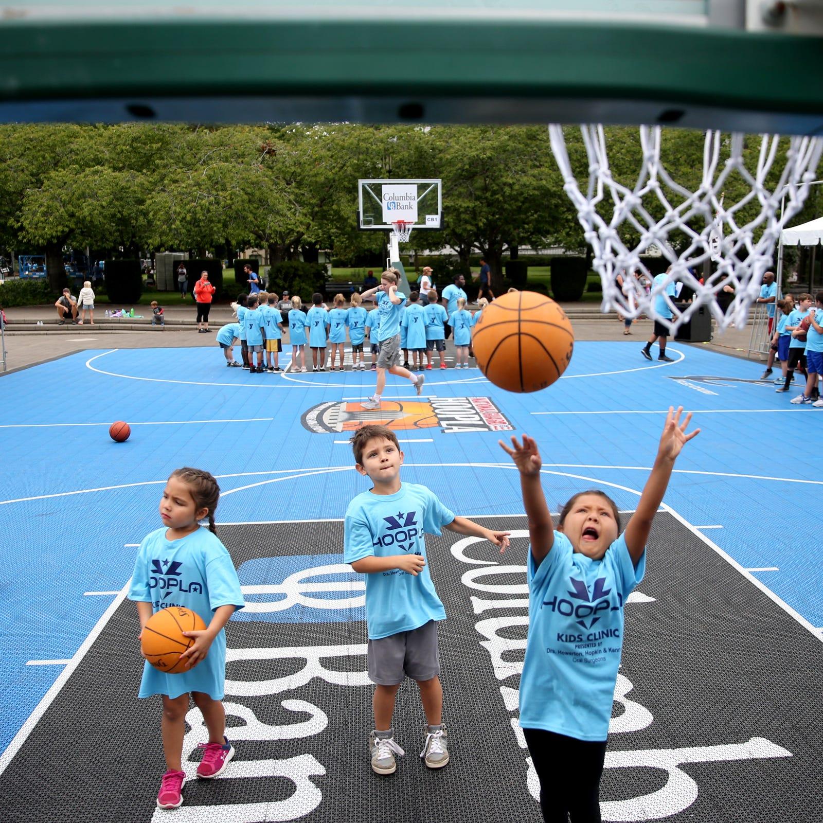 PHOTOS: Hoopla Kid's Clinic 2018