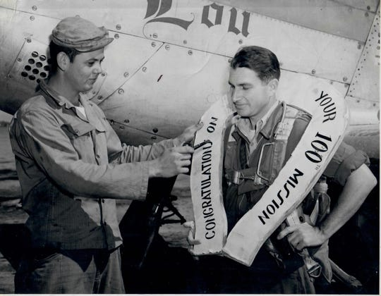 Stephen A. Stone Jr. was a pilot in  World War II and Korea