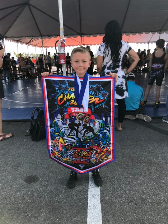 Bittner took home two medals from this weekend's competition in San Diego, finishing first and third in the two weight classes he entered.