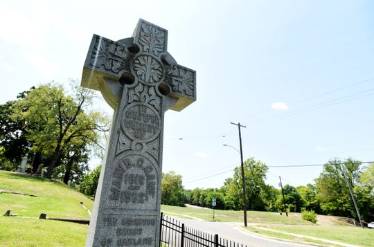 The grave of Mary Cane, considered to be the 'mother' of Shreveport, is locate din Oakland Cemetery. Her husband and 'father' of Shreveport is thought to be buried in an unmarked grave across the street.