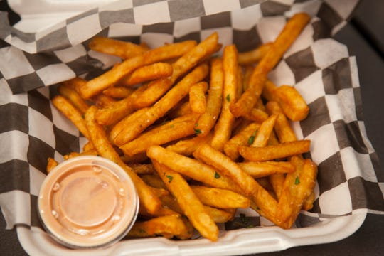 Fries from George's Corner Wednesday, Aug. 1, 2018.