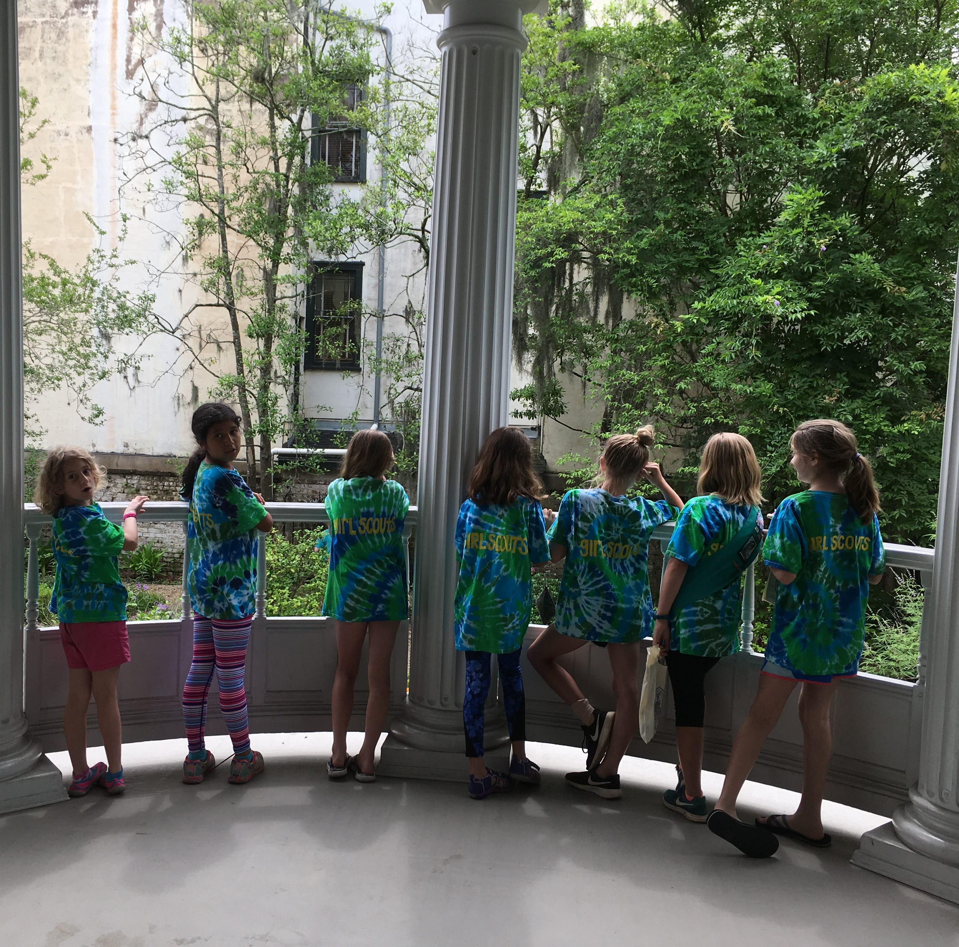 An Upstate Girl Scout troop's adventure to Savannah: Visiting Juliette Gordon Low's birthplace