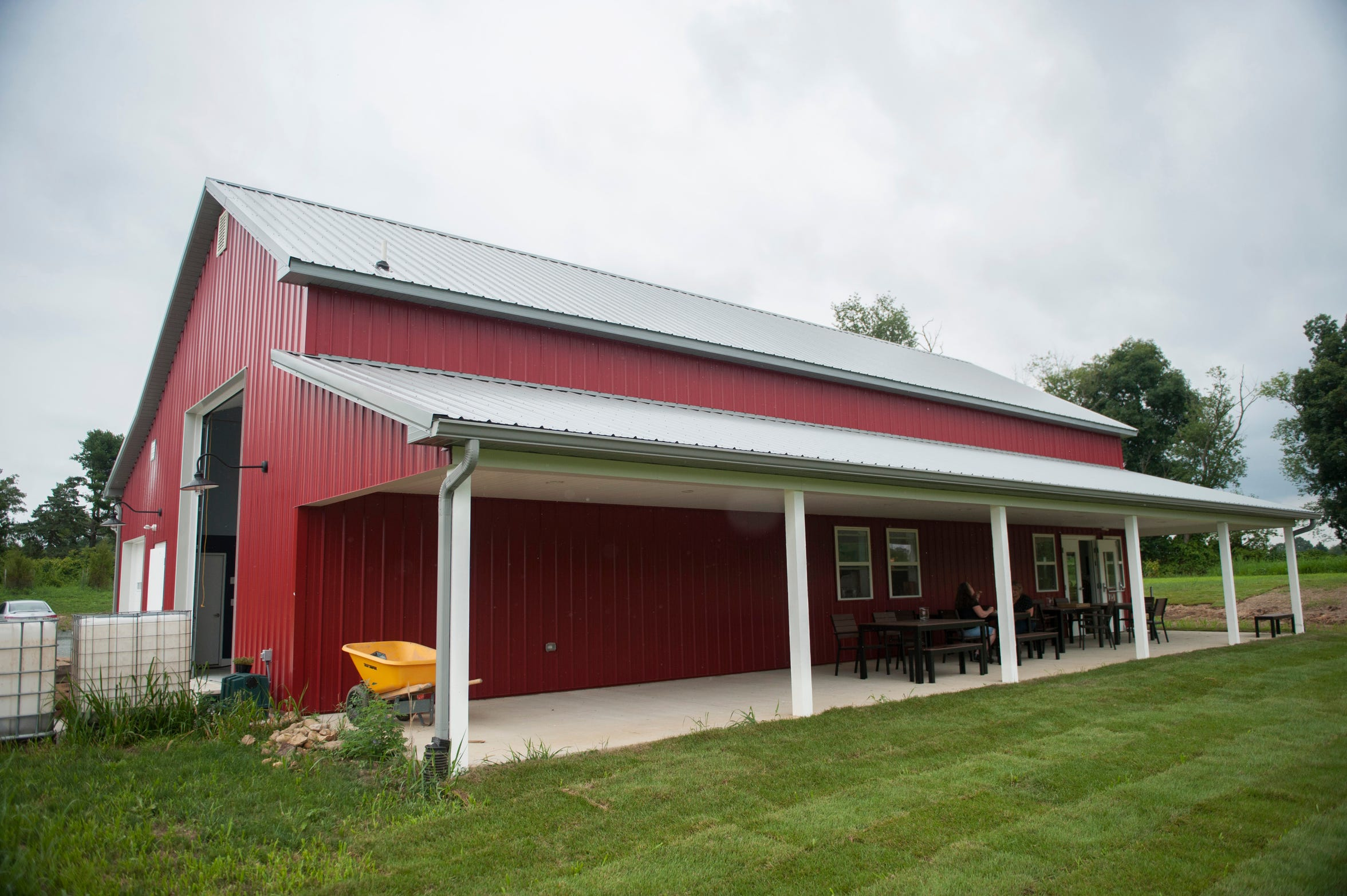 Exterior of Independent Spirits Distillery in Woolwich Township.