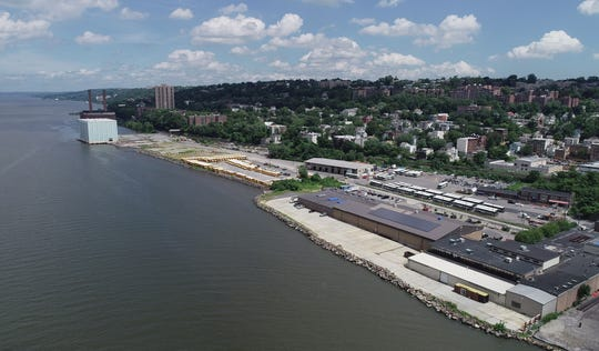 The Extell development site in Yonkers Aug. 2, 2018.