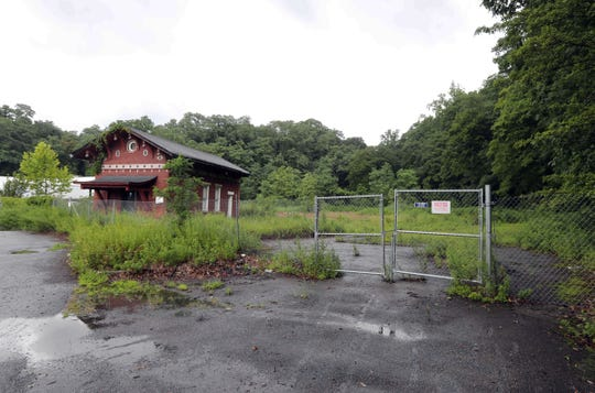 The Hidden Cove development has been proposed for an undeveloped property on North Water Street Ossining. The property was photographed Aug. 2, 2018.