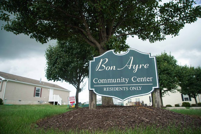 Bon Ayre residents have petitioned the owners of Bon Ayre over capital improvements plan for a pool, which was built and filled in April with no other work taking place, including no filtration of the water and no fence around the pool.