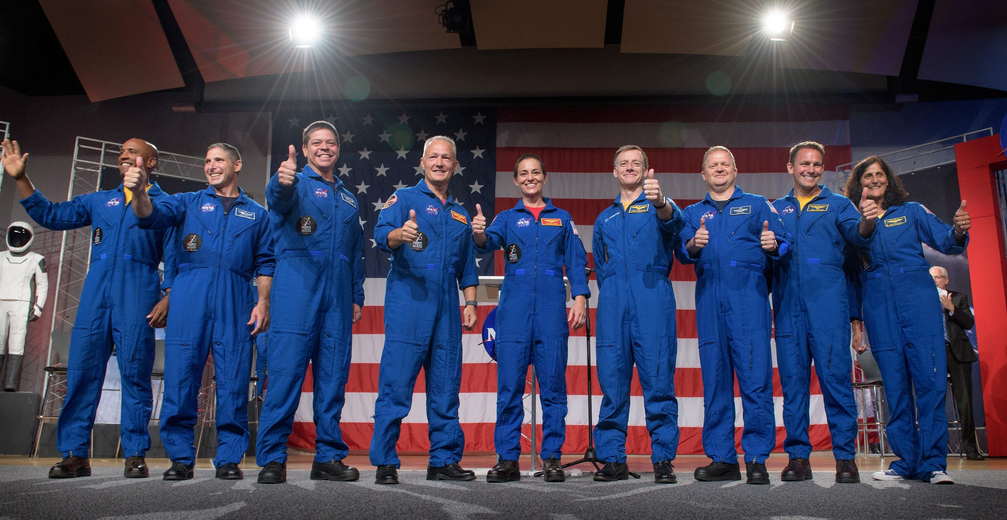 Meet the nine astronauts who will be the first to fly on commercial SpaceX and Boeing spacecraft