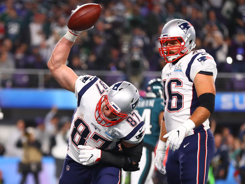 No. 21: Rob Gronkowski, TE, Patriots