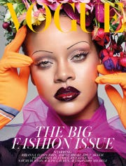 Rihanna is the cover star of the September 2018 issue of British Vogue.