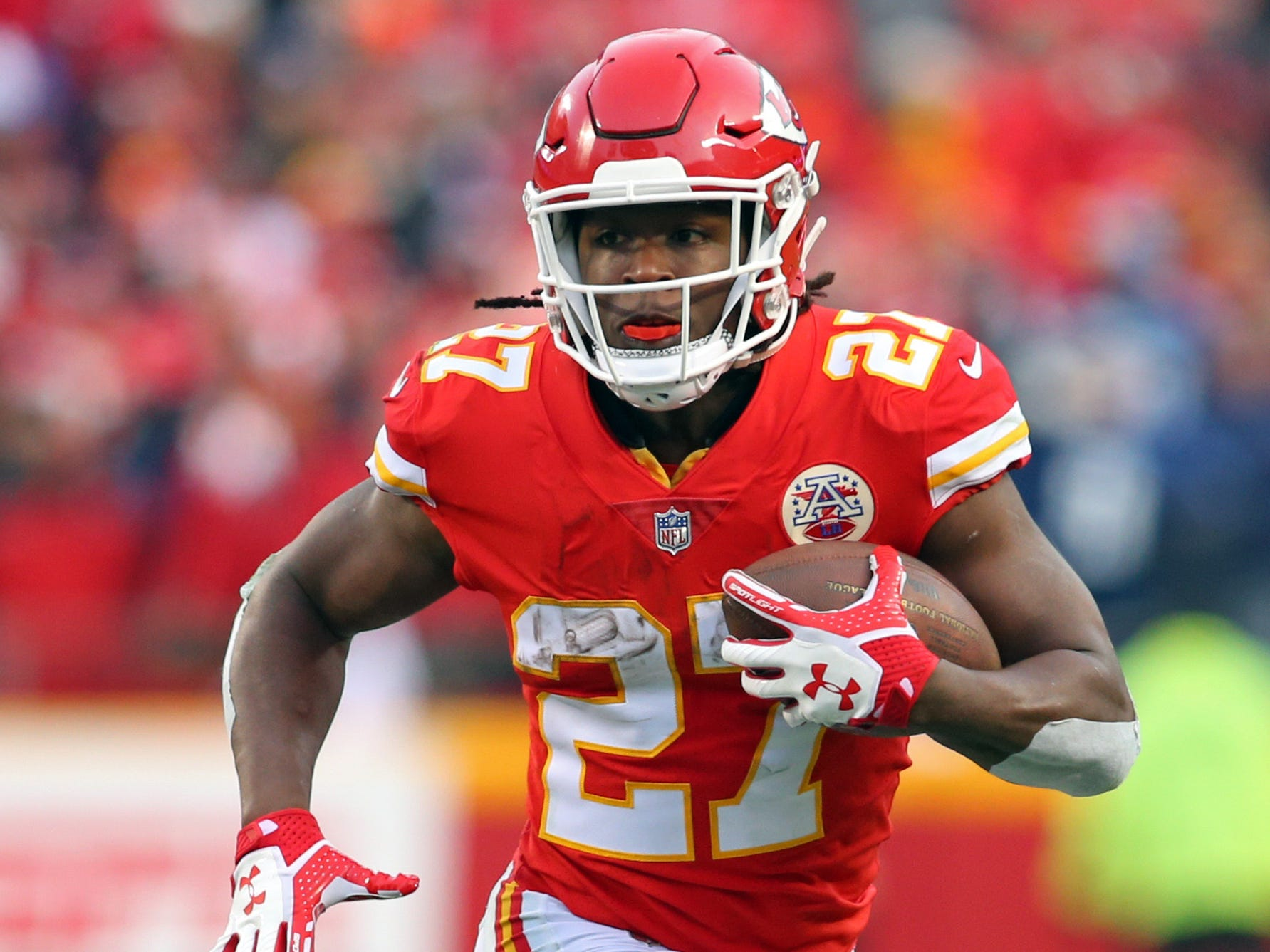 No. 17: Kareem Hunt, RB, Chiefs