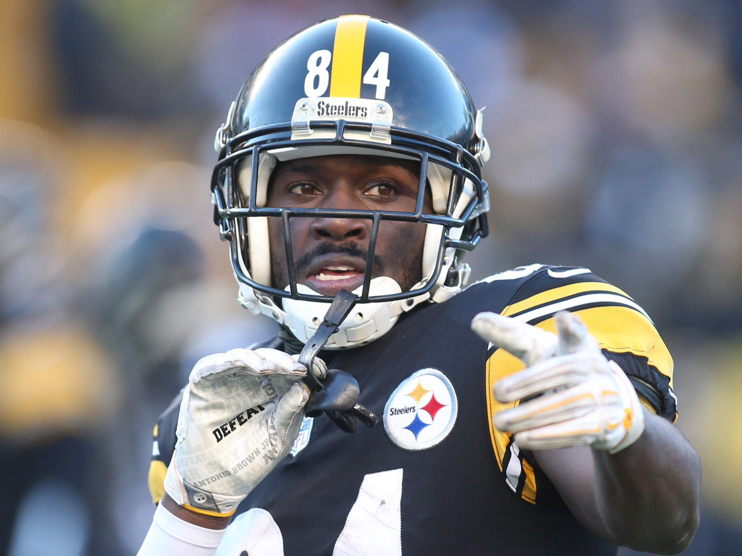 No. 5: Antonio Brown, WR, Steelers