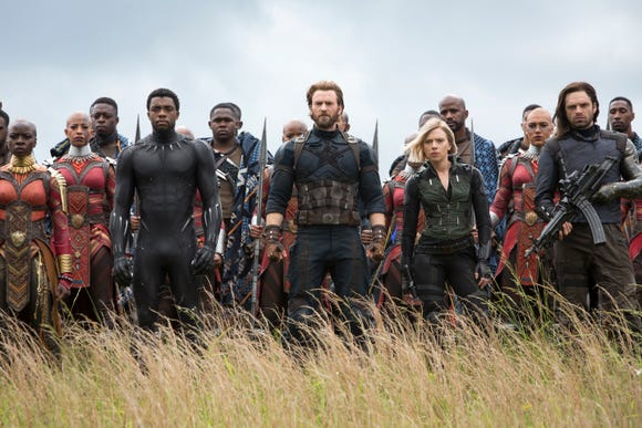 Your favorite Marvel superheroes are back to pick up the pieces in 'Avengers: Endgame.'