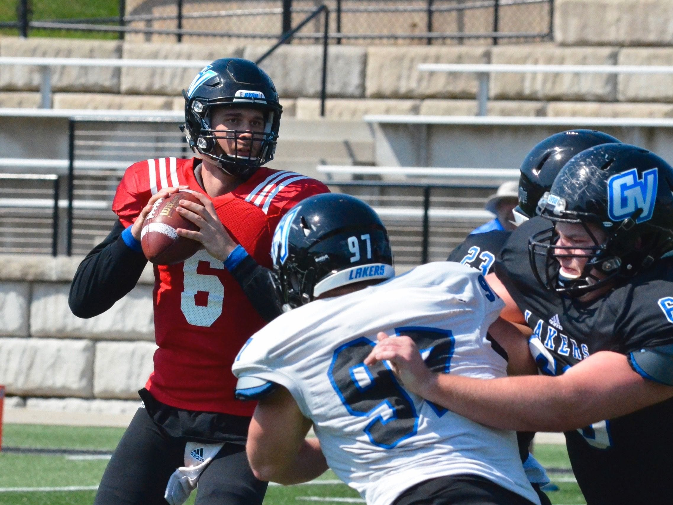 16. Grand Valley State at Saginaw Valley State. When: Oct. 27. Where: Saginaw.  The buzz: Grand Valley State crushed SVSU last year, 34-6, but in this in-state rivalry, anything can happen.